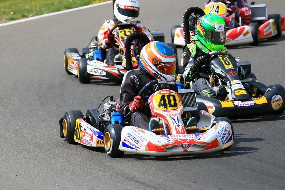 Podeste für Solgat Motorsport in Hahn