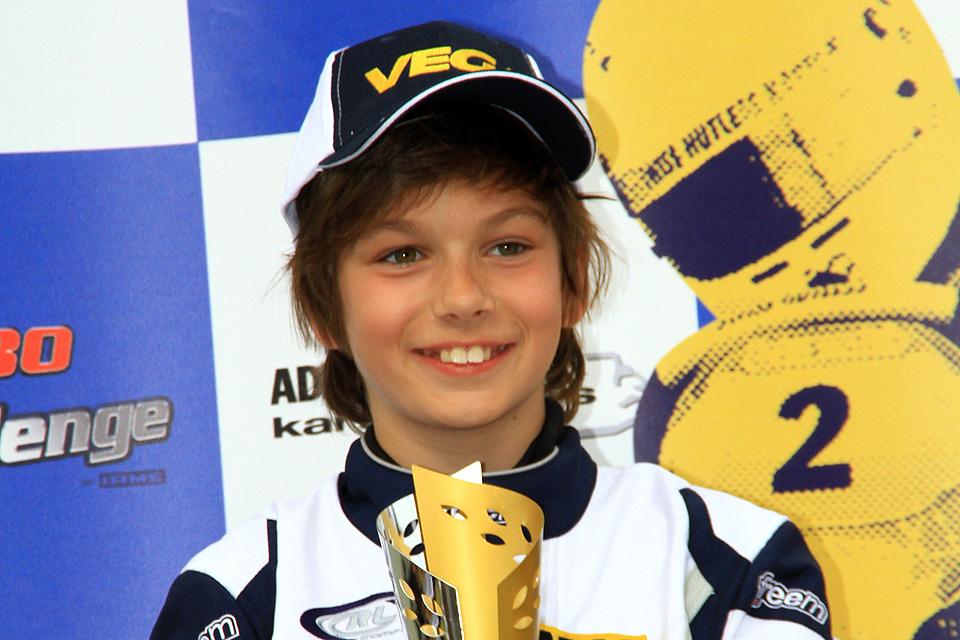 Junior-Rookie Marius Zug auf Siegeskurs