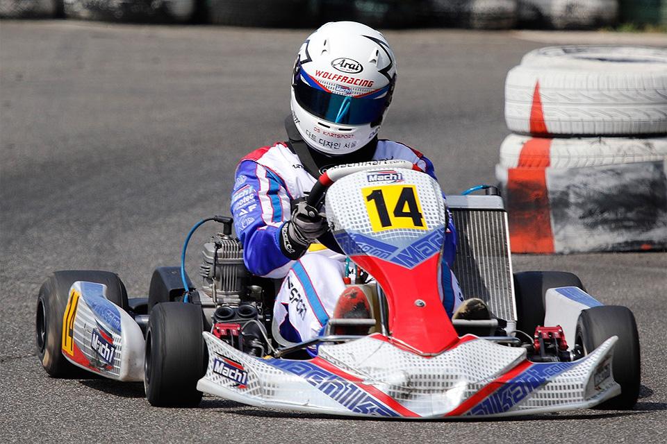 Mark Wolff in den Top-Fünf auf dem Saarlandring