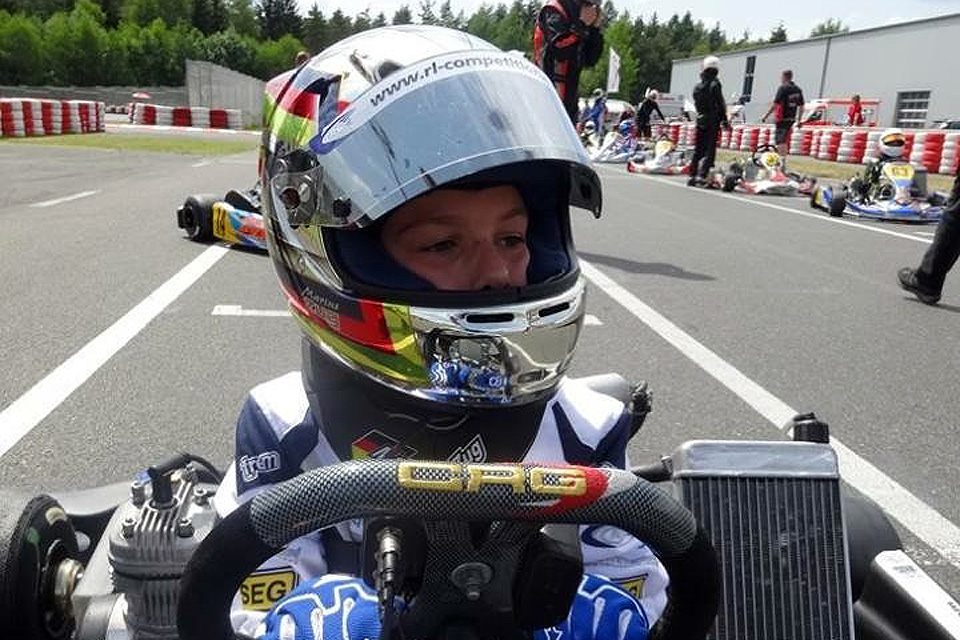 Marius Zug feiert Pole-Position-Premiere bei den Junioren