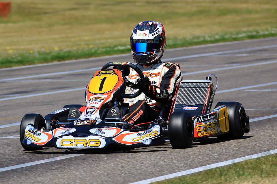 CRG Keijzer racing überzeugt in Genk