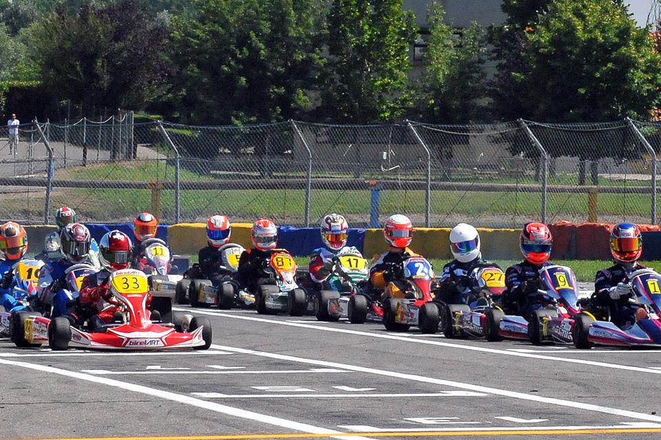 Rotax Max Challenge Schweiz in Castelletto zu Gast