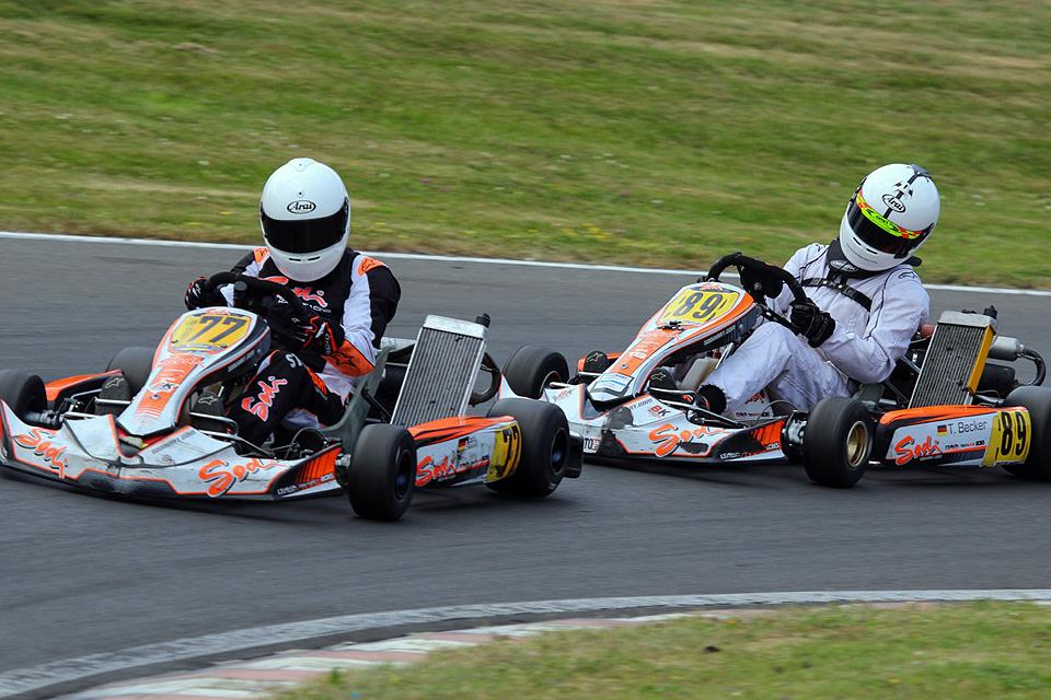 Heißes Wochenende für das Beule-Kart Racing Team auf dem Hunsrückring