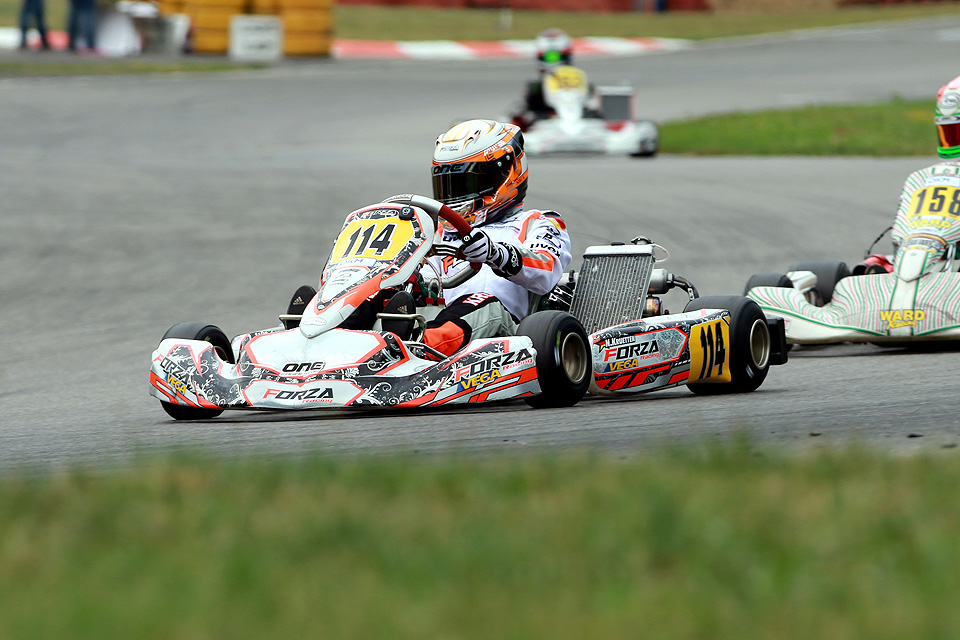 Niklas Krütten in den Top-Ten