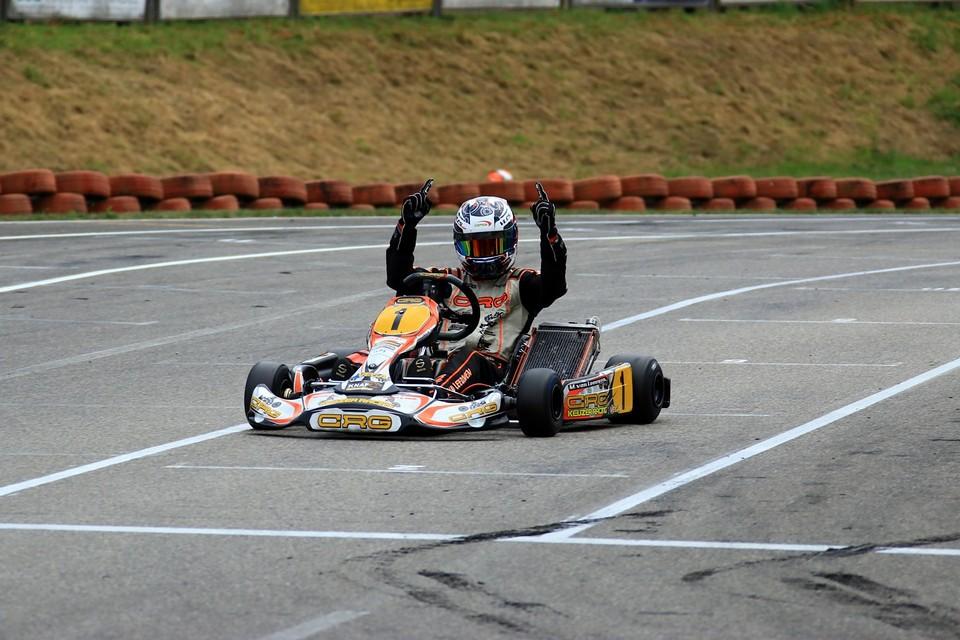Sieg für CRG Keijzer Racing in Ampfing