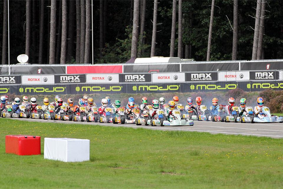Vier neue Meister in der ROTAX MAX Euro Challenge