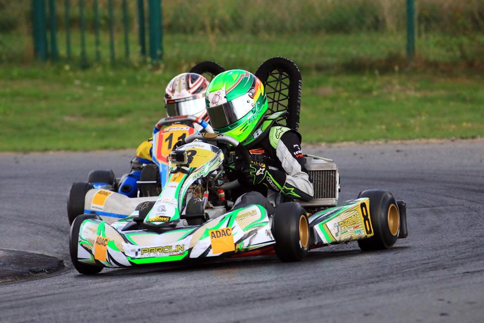 Hugo Sasse ist ADAC Kart Masters-Vizechampion
