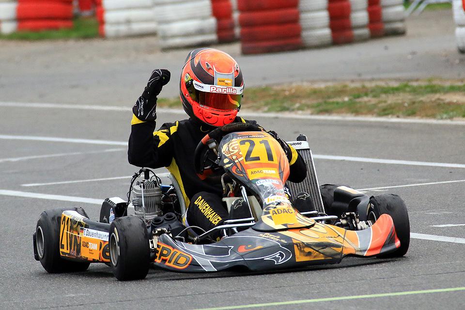 ADAC Kart Masters: Tobias Dauenhauer holt sich den Meistertitel