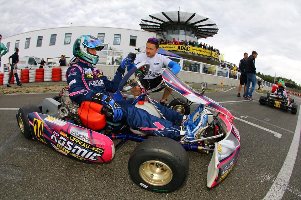 Luca Lippkau beendete ADAC Kart Masters in den Top-Fünf