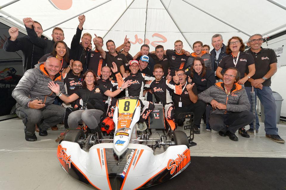 KZ Weltmeisterschaft: Sodi Kart-Trio in den Top-Fünf