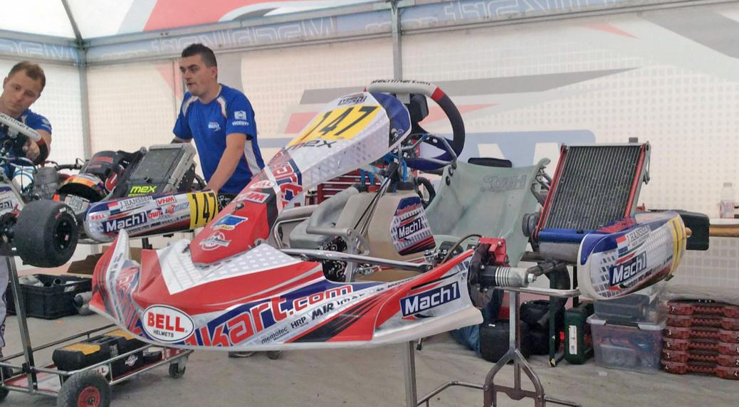 Mach1 Kart überzeugt in Le Mans