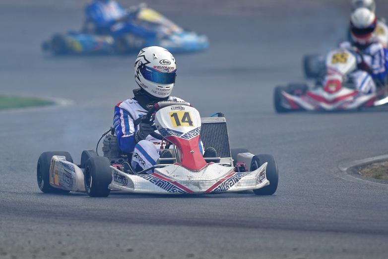 Mark Wolff glücklos im ADAC Kart Masters Finale