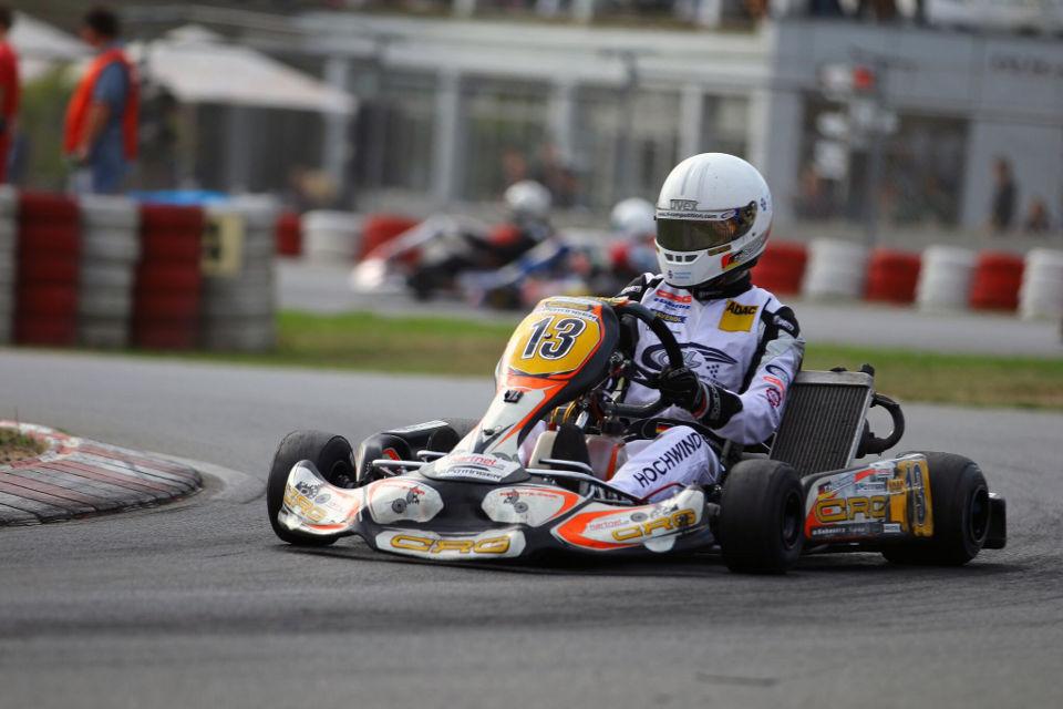 Top-Ten-Platzierung für Timo Hochwind bei Finale des ADAC Kart Masters