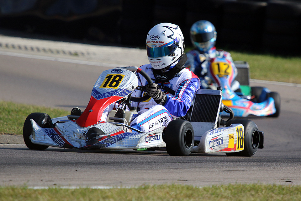 Mark Wolff Dritter im ADAC Kart Cup 2015