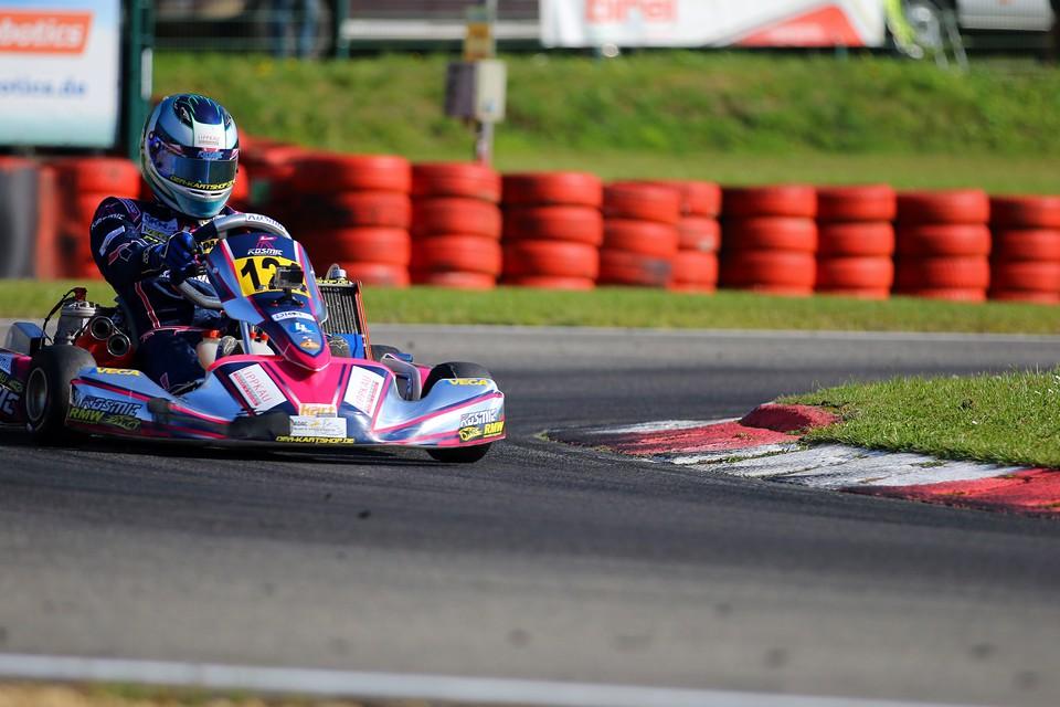 Luca Lippkau punktet beim Saisonfinale