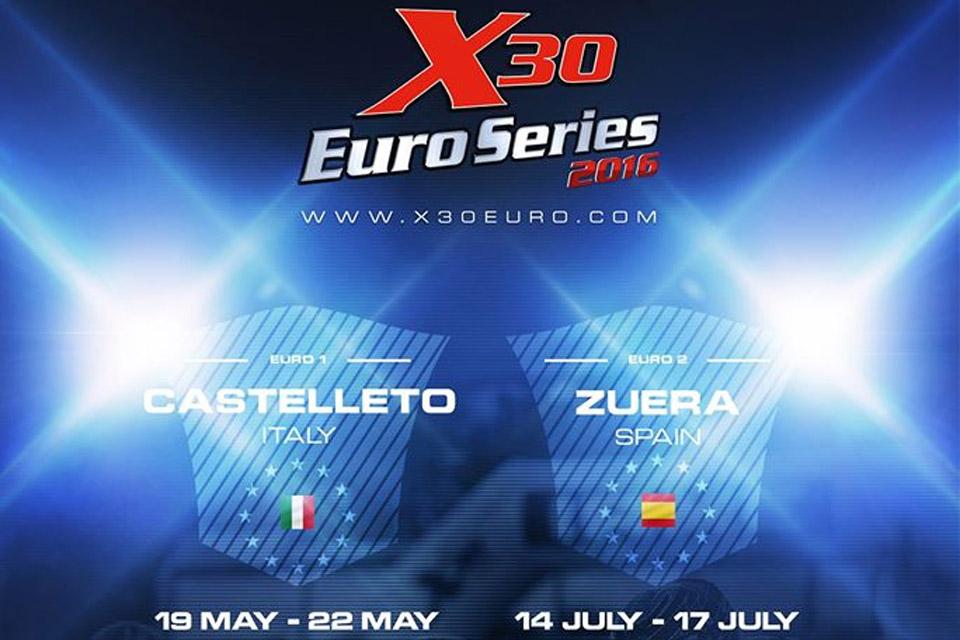 Premiere der IAME X30 Euro Series in 2016