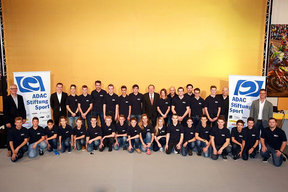 ADAC Stiftung Sport-Förderkader für 2016 steht fest
