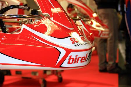 Solgat Motorsport informiert auf der Kartmesse