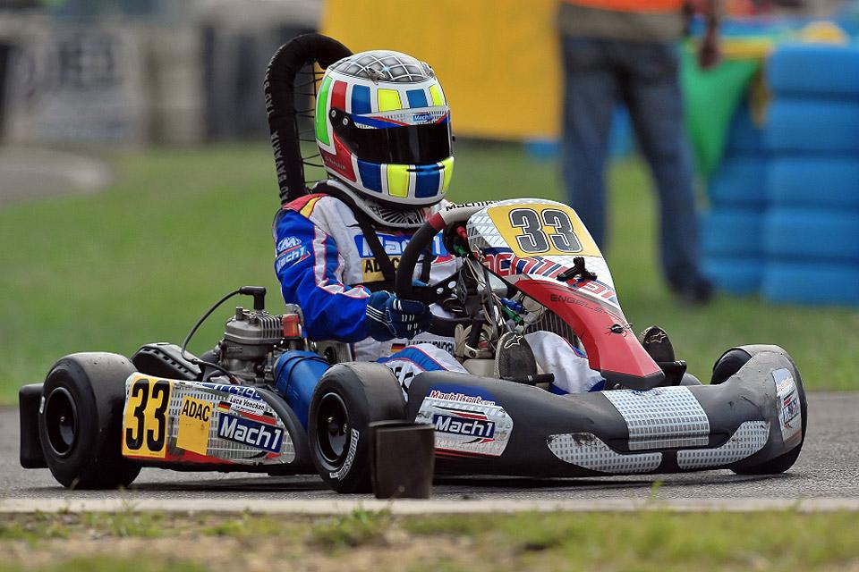 DS Kartsport Piloten schon in Topform beim Winterpokal Kerpen