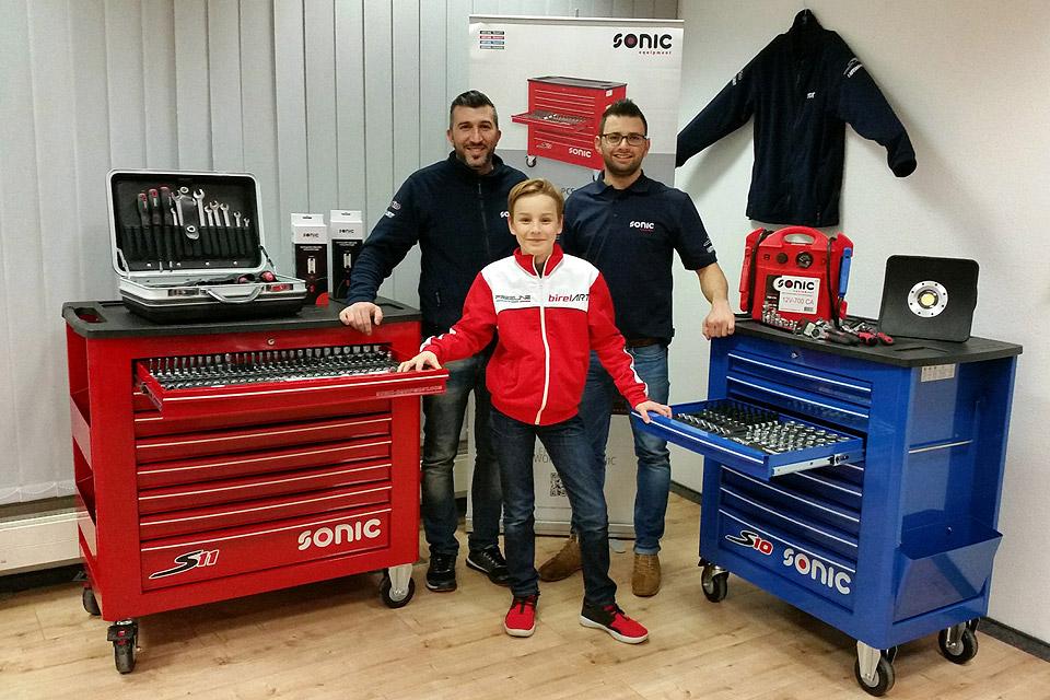 Sonic Equipment unterstützt Finn Gehrsitz