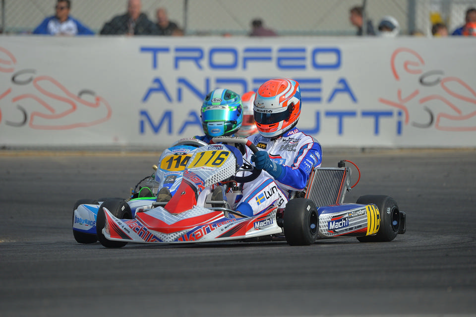 Trophy Margutti: Mach1 Motorsport holt Pole-Position
