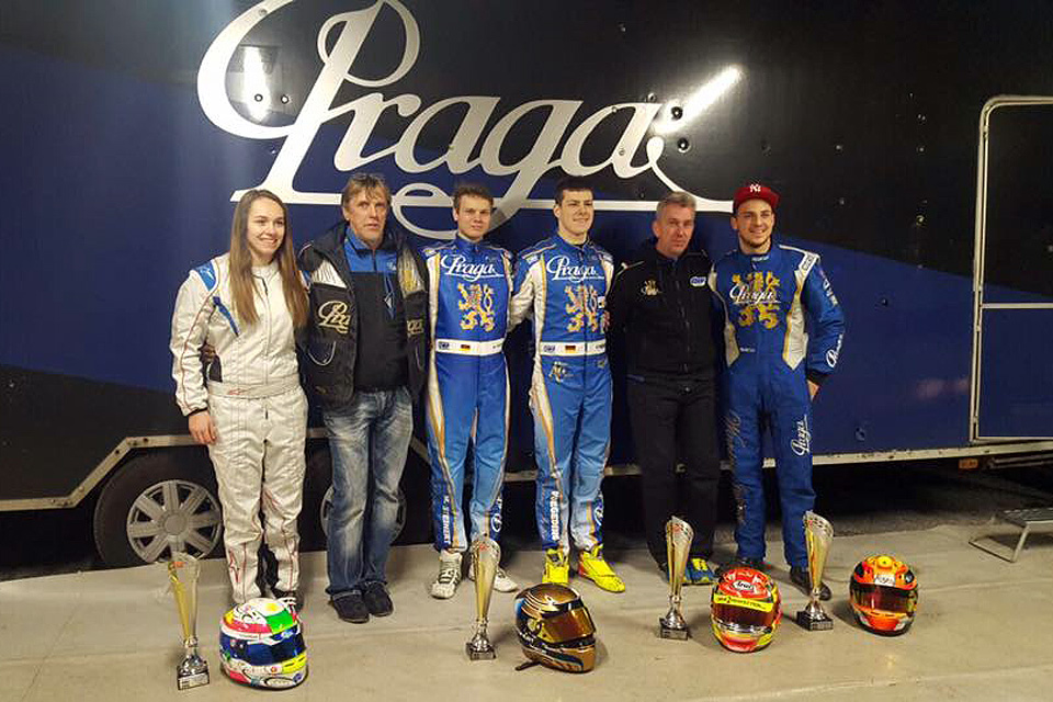 M-TEC Praga Racing: Vier RMKC-Siege in Liedolsheim