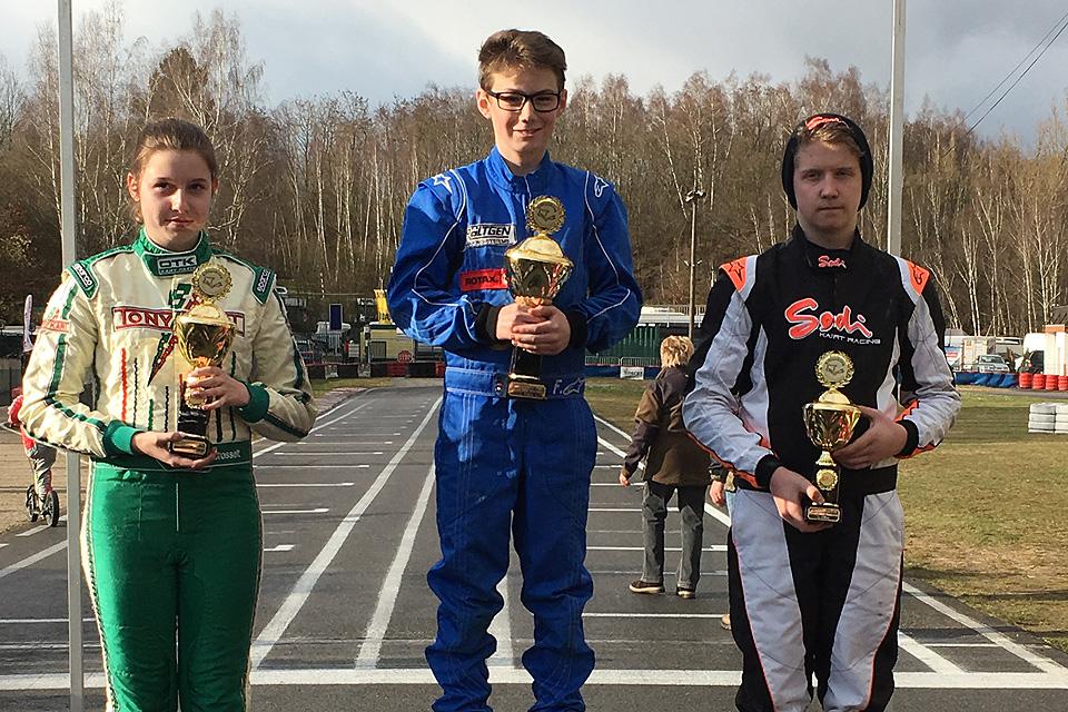 Mika Freyaldenhoven startet mit Sieg beim Ostercup in die Saison