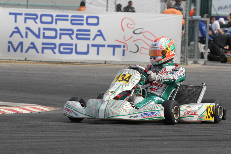 Podium bei Trofeo Margutti und in Oschersleben