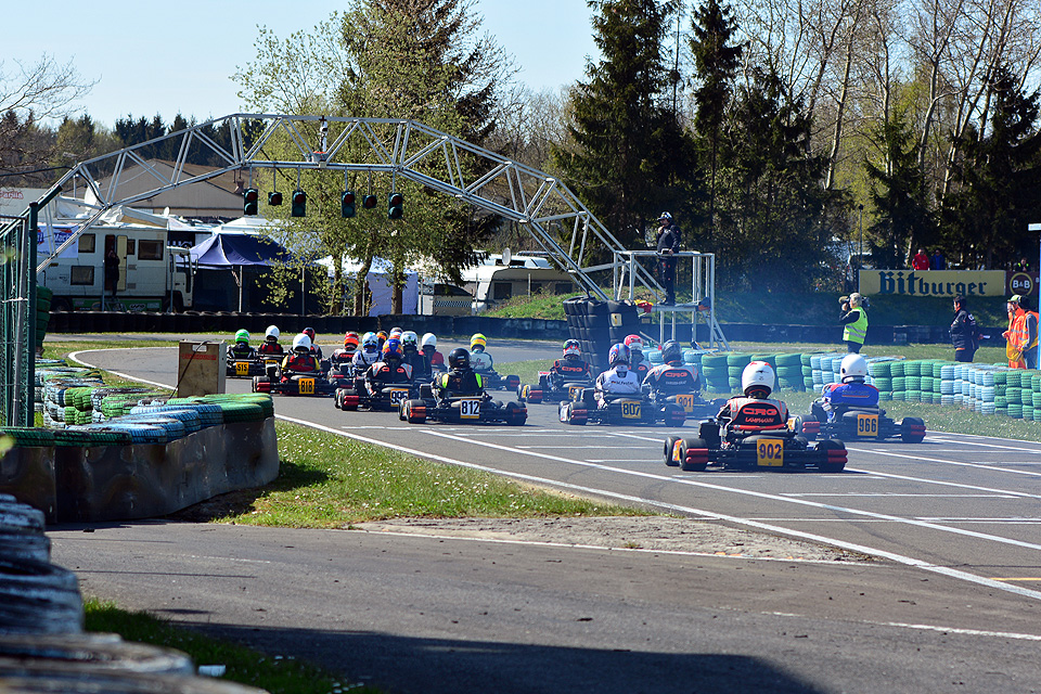 Zweite Runde des ACV Rhein-Main Kart-Cup in Hahn