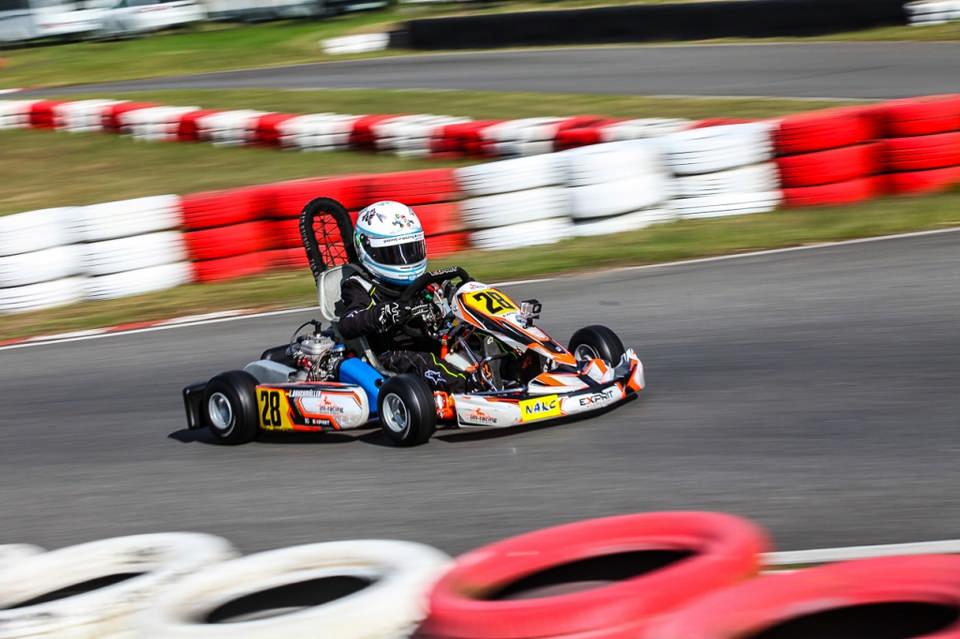 Leon Bauchmüller gelingt ADAC Kart Cup-Einstand
