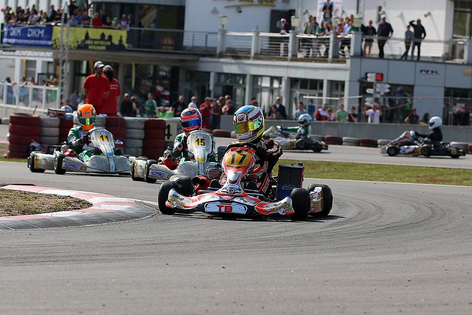 CRG TB Racing Team mit DKM-Laufsieg in Wackersdorf