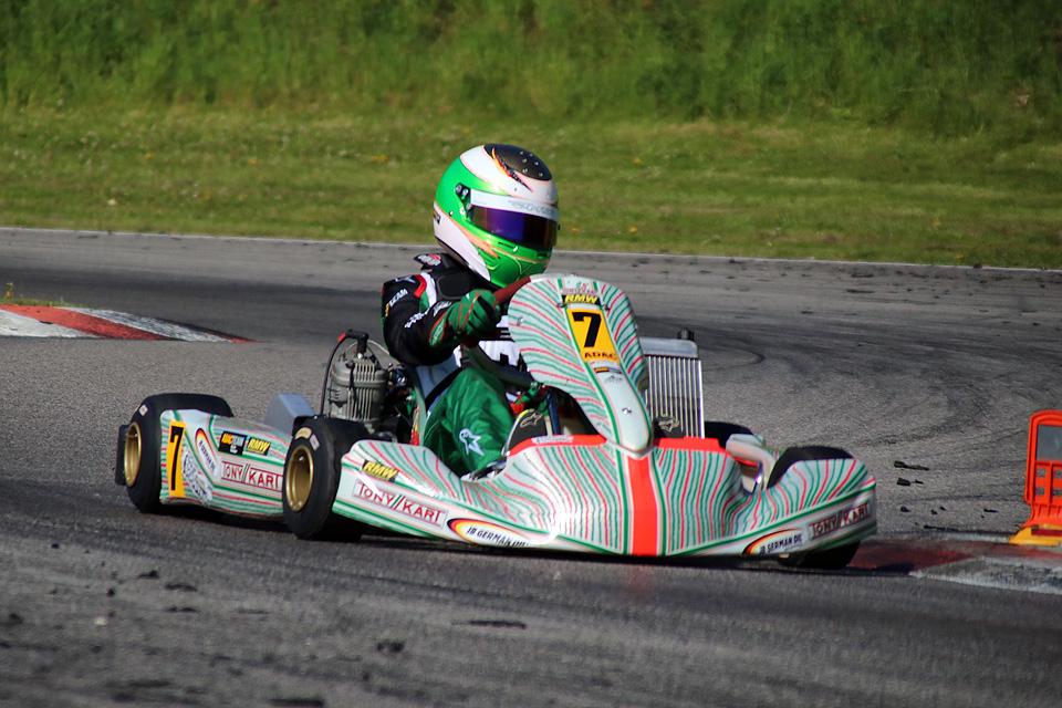 Marcel Schminke siegt bei Kart-Trophy in Ampfing