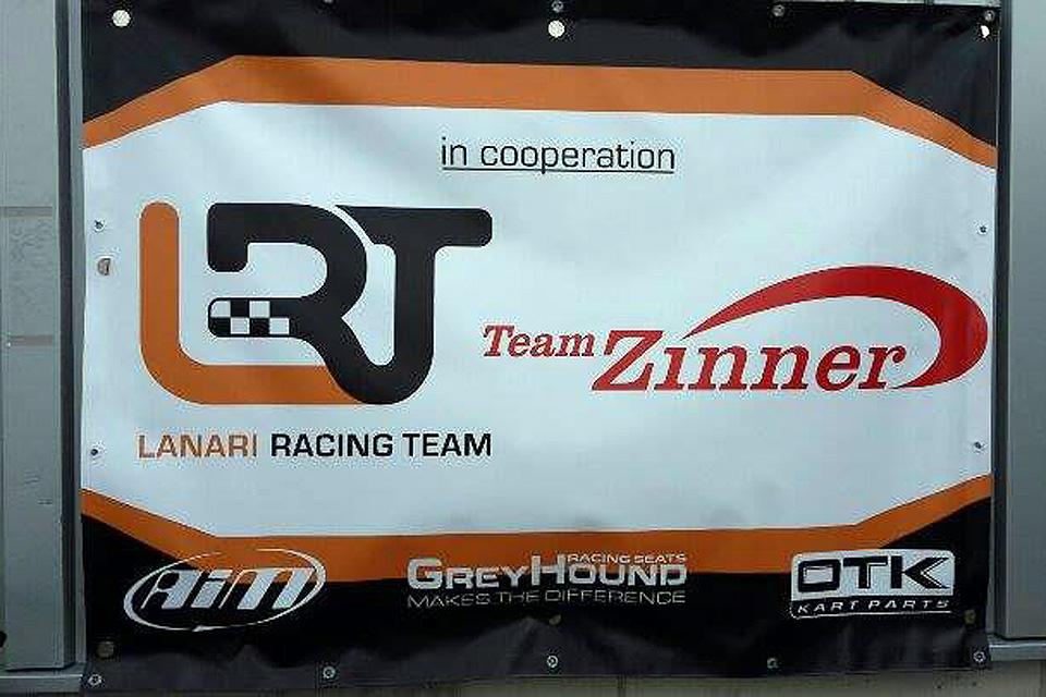 Team Zinner und LRT starten durch
