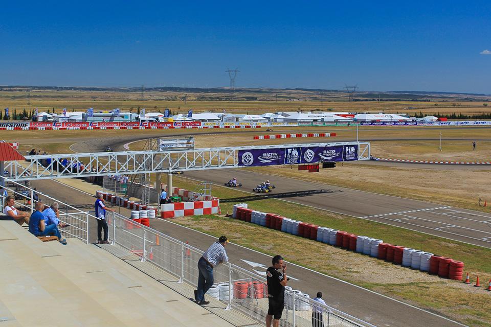 CIK-FIA Europameisterschaft startet in Zuera