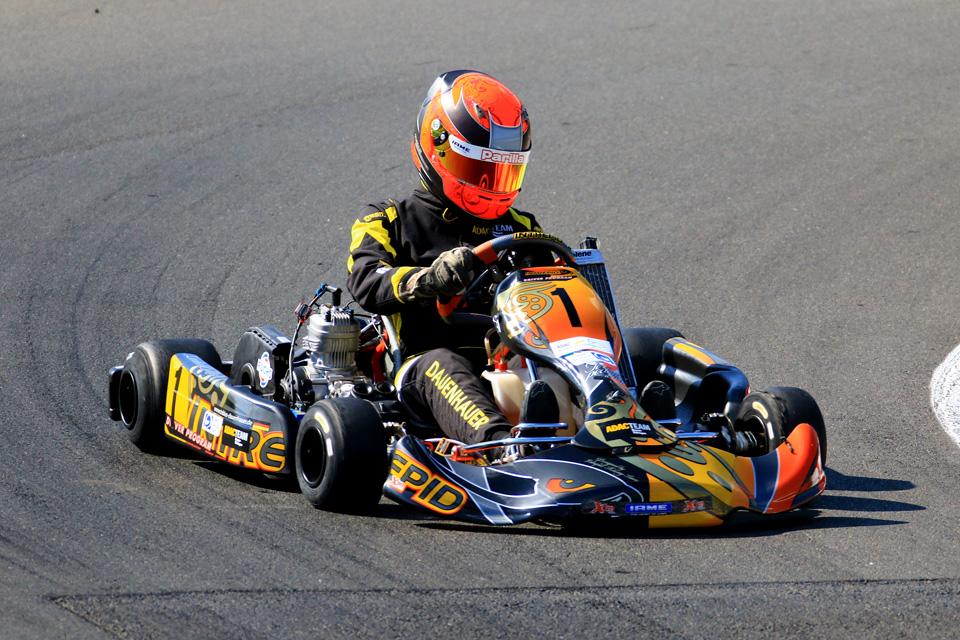 ADAC Kart Cup: Dauenhauer führt Siegesreihe fort