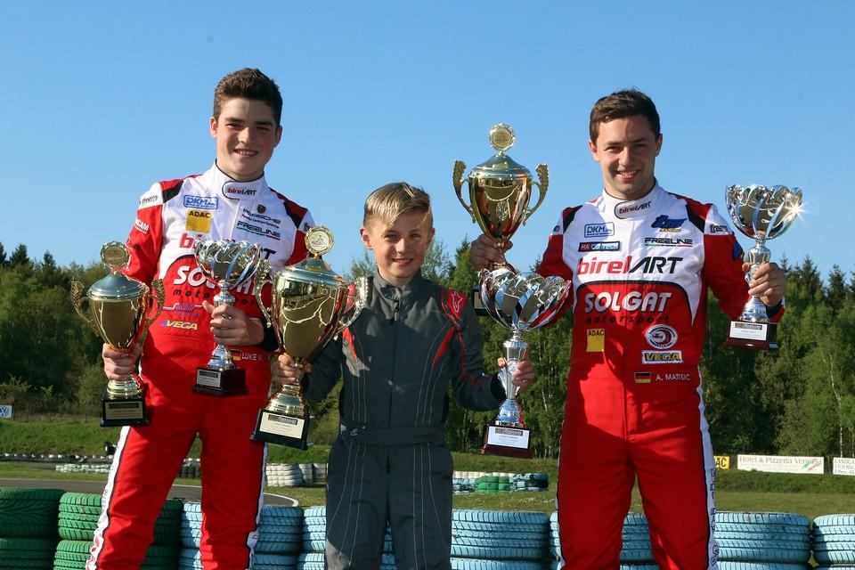 Solgat Motorsport etabliert sich im Spitzenpulk