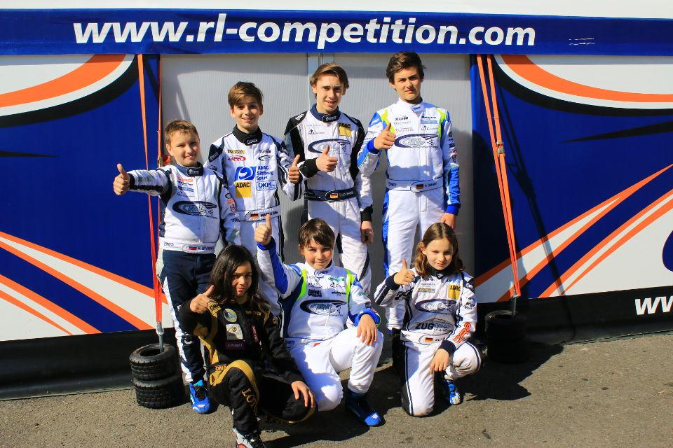 RL-Competition: Erfolgreicher Auftakt zum ADAC Kart Masters 2016