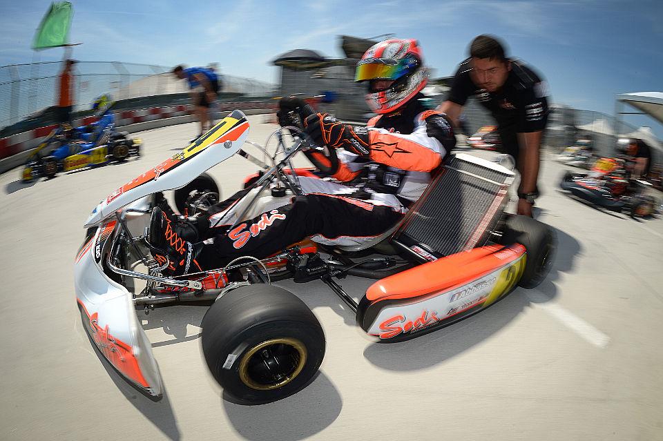Sodi Kart erfolgreich bei WSK Super Masters Series