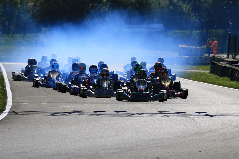 Strahlender Saisonstart des ADAC Kart Masters