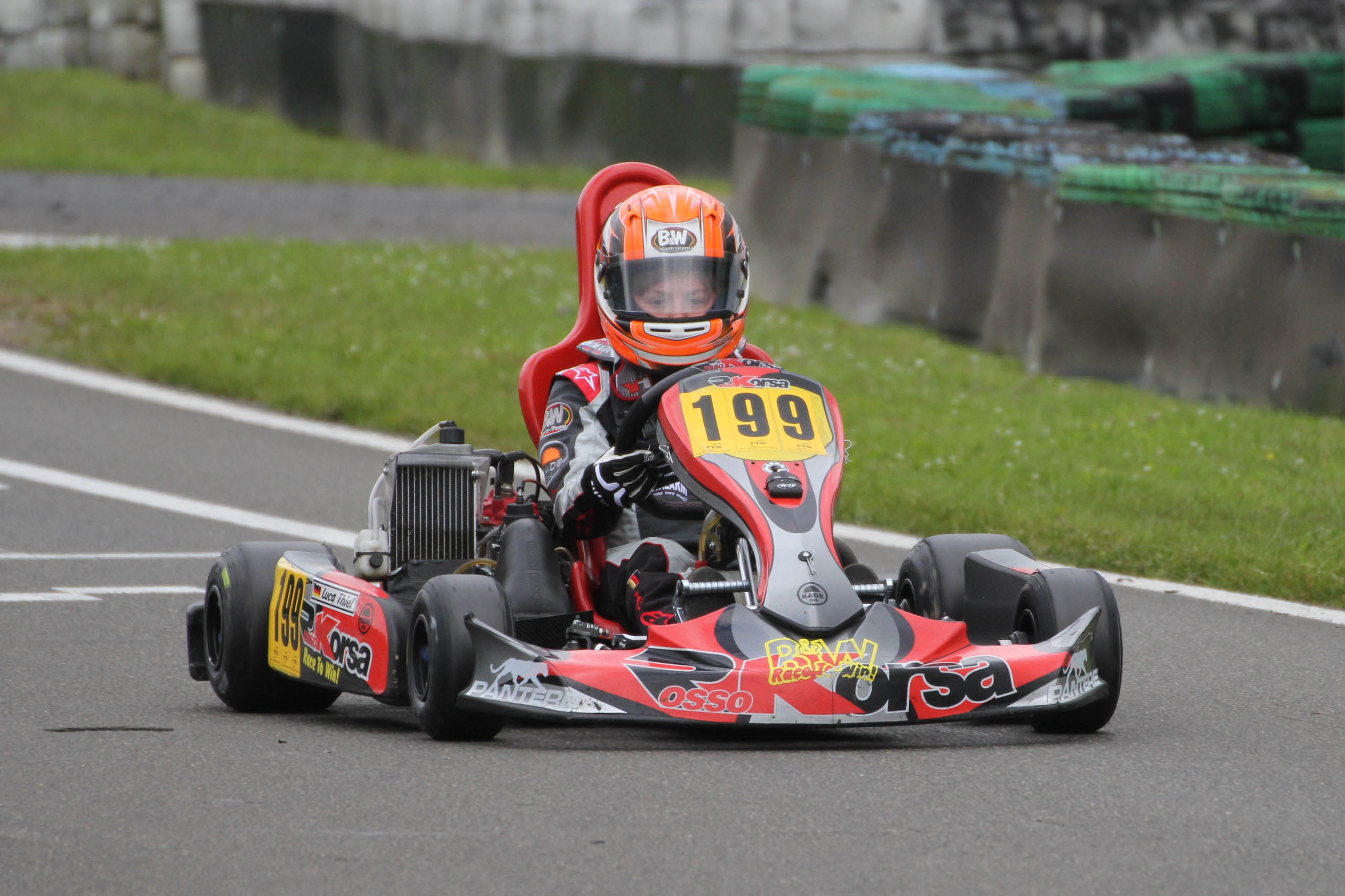 B&W Kartteam: Solide Performance in Hahn