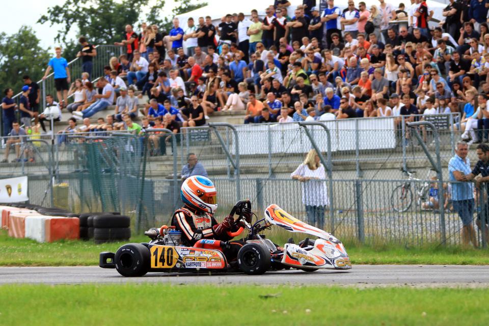 Erste DKM-Meisterschaftspunkte für Jan David Fusen