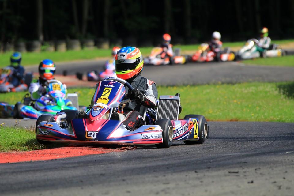 ADAC Kart Masters-Siege für Team Zinner by LRT