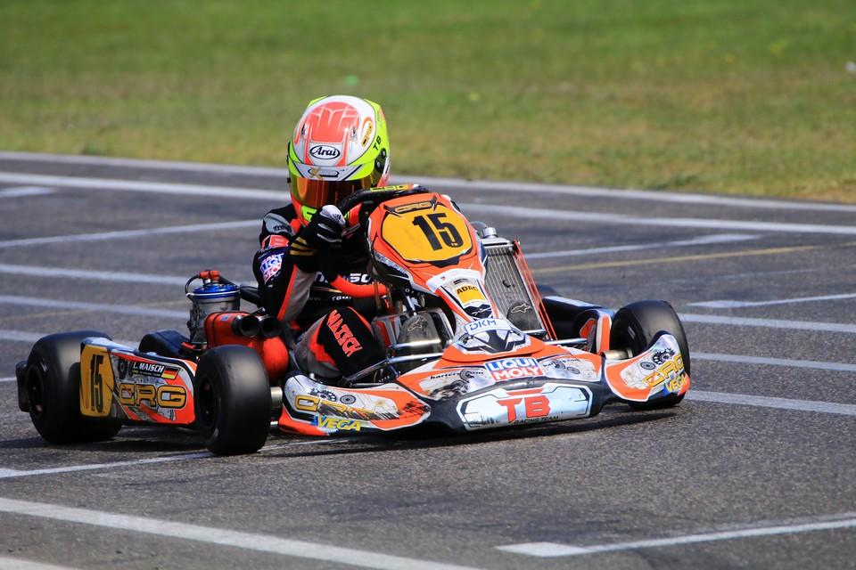ADAC Kart Masters-Halbzeitmeisterschaft für CRG TB Racing