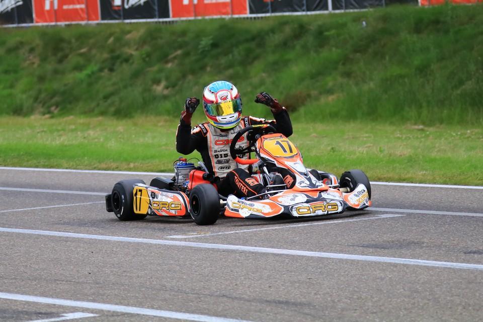 Zweifachsieg für CRG TB Racing in Genk