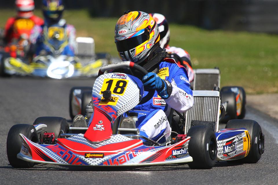 Doppelführung im ADAC Kart Cup für DS Kartsport