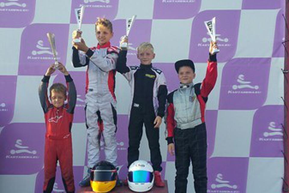 Doppelsieg und Podium für Meier-Motorsport Bambini