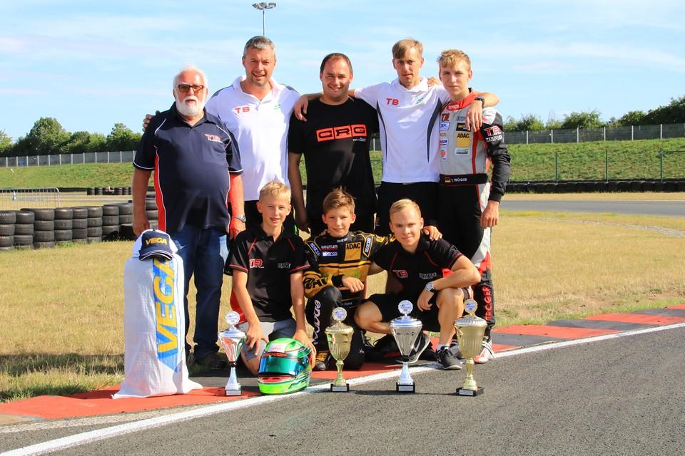CRG TB Racing Team hat zwei ADAC-Titel im Blick