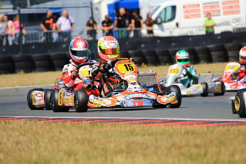 Luca Maisch hat trotz Pech beste Titelchancen im ADAC Kart Masters