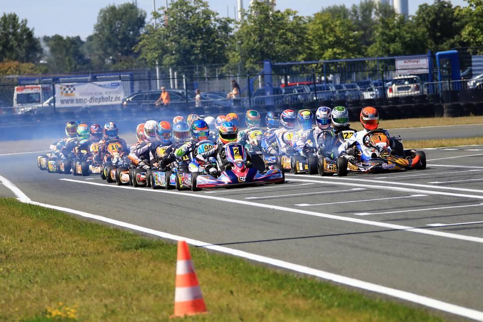 ADAC Kart Masters kürt ersten Meister in Oschersleben