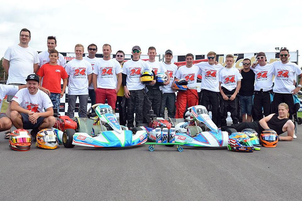 Schwarzes Wochenende für beide CARTteam's in Wackersdorf